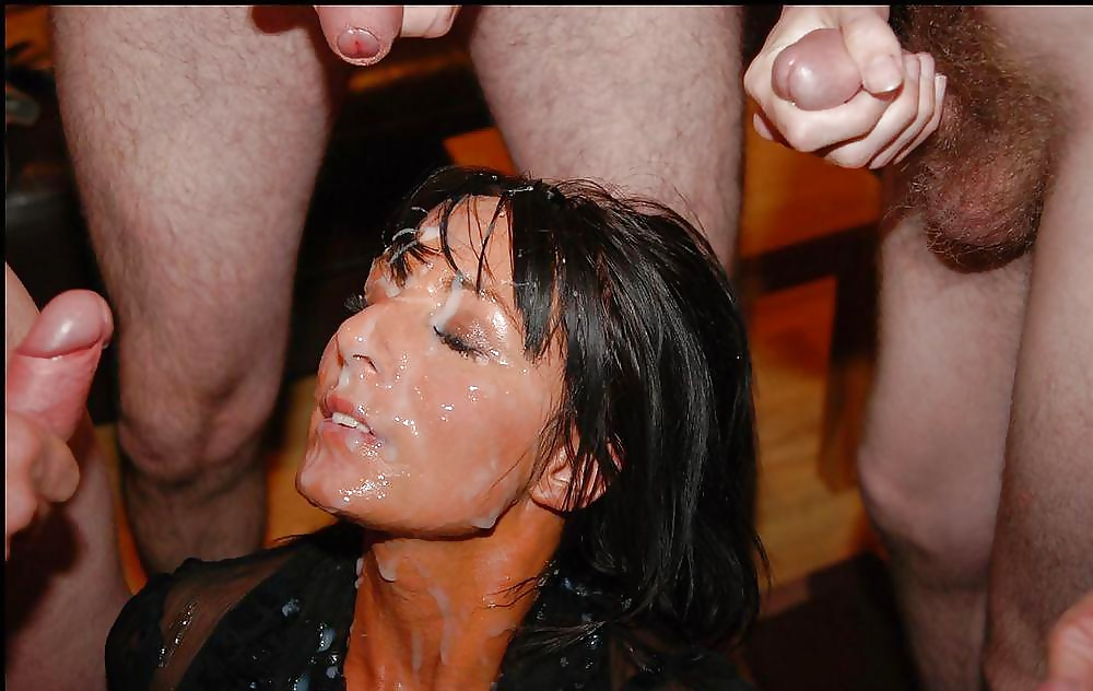 Mana recommend Close covered cum hairy old pussy up